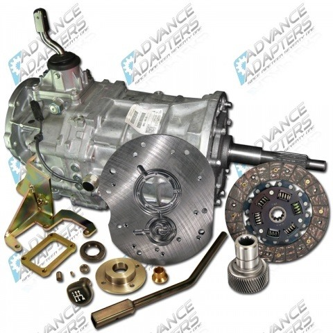 Advance Adapters AX15 Transmission (in place of the stock AX5) 4 Cylinder Equipped Jeep Wrangler