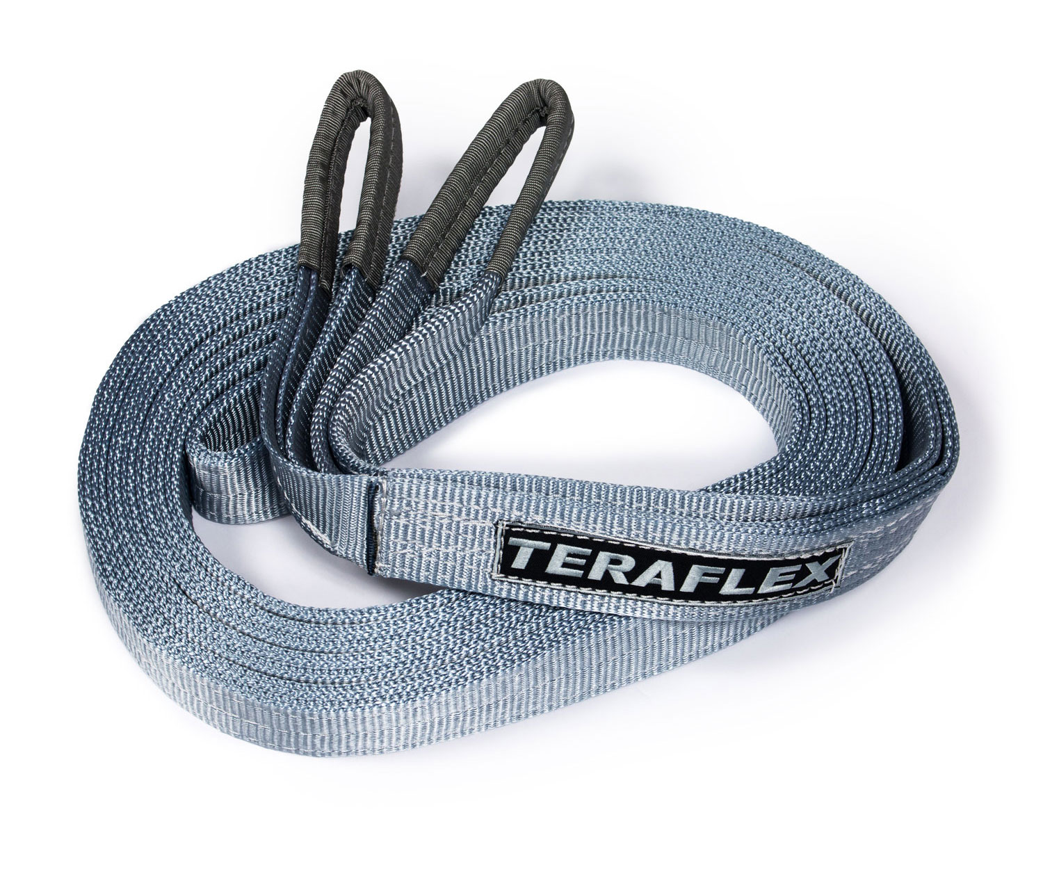 TeraFlex Recovery Tow Strap w/ 20,000-lb. Rating – 30' x 2""
