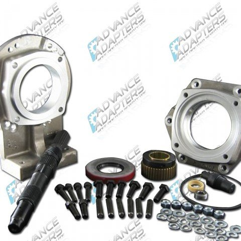 Advance Adapters 1997 to current GM 4L60E / 4L65E Transmission to the Jeep NP231 Transfer Case with 23 Spline Input Shaft Adapter Kit
