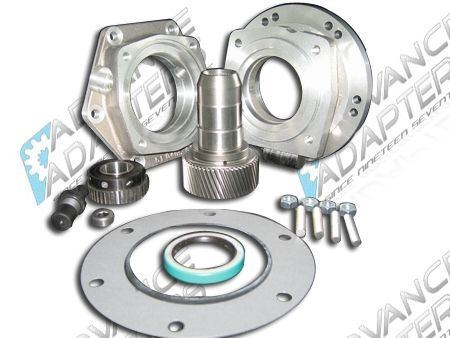 Advance Adapters 1997 to Current GM 4L60E/4L65E 4wd to the Jeep NP231 Transfer Case Adapter Kit