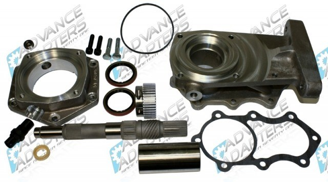 Advance Adapters GM 4L60E to GM NP205 (10 Spline) Adapter Kit