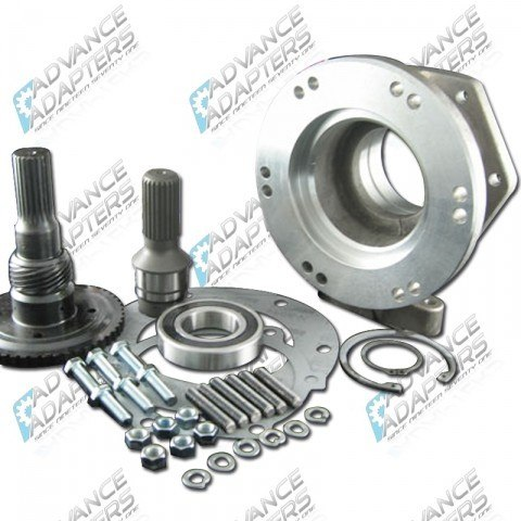 Advance Adapters GM TH400 to New Process 231 23 Spline Transfer Case Adapter Kit (4.25 long)