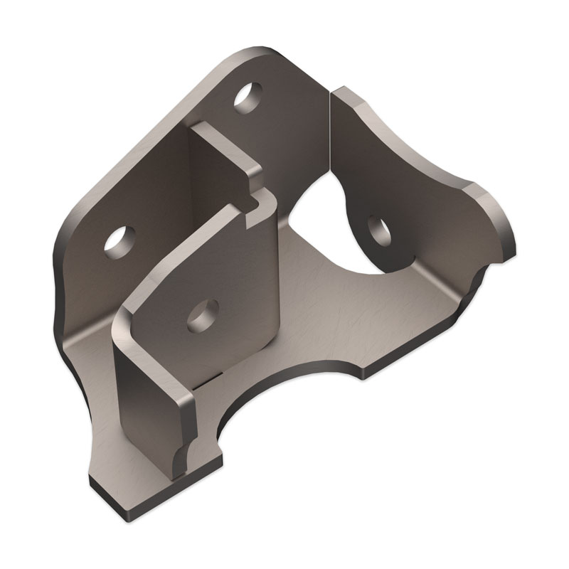 Artec Industries JK APEX Stock Tracbar Bracket