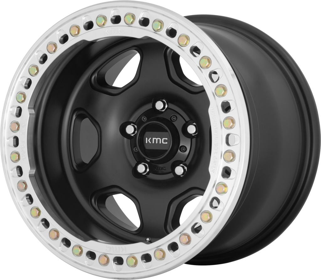 KMC KM233 Hex - 17x9 - Satin Black