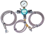 ORI Dual Fill Nitrogen Charge Kit - 600PSI Gauge