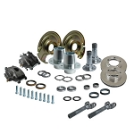 Solid Axle Industries 5 on 5.5 Front End Kit for D44