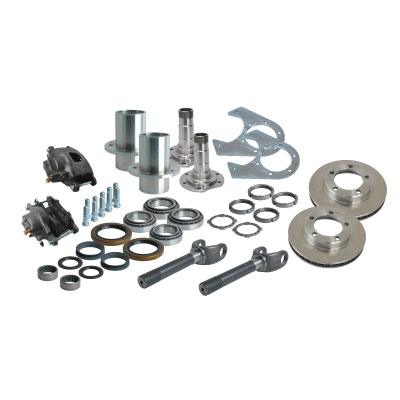 Solid Axle Industries 6 on 5.5 Front End Kit for D60