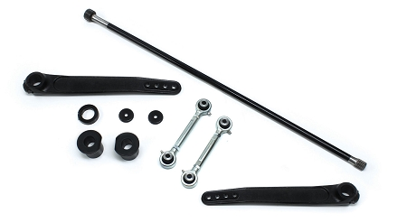 TeraFlex TJ/LJ: Trail-rated Forged S/T Front Sway Bar System