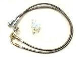 Iron Rock Off Road WJ Stainless Steel Braided Front Brake Hoses