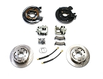 TeraFlex 1987-90 YJ & 1984-90 XJ: Rear Disc Brake Conversion Kit
