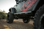 A.D.D. 2007-2018 Jeep JKU (4 Door) Stealth Fighter Side Steps