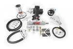 PSC Motorsports 12-18 Jeep JK 3.6L OEM Cylinder Assist Steering Kit with Aftermarket D44 Axle