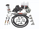 PSC Motorsports Cylinder Assist Steering Kit, 1999.5-2006.5 GM 4WD with Straight Axle Conversion