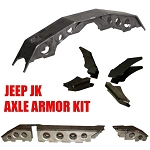 TMR Customs Jeep JK Axle Armor Kit - Dana 44 Front/Dana 44 Rear