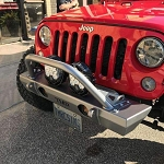 TMR Customs Jeep Wrangler JK Front Bumper with Flat Tube