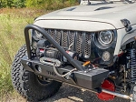 TMR Customs Jeep Wrangler JK Front Bumper with Stinger