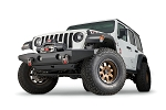 Warn Full-Width Crawler Bumper without Grille Guard Tube for Jeep JL, JK & JT