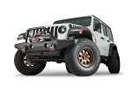 Warn Full-Width Crawler Bumper with Grille Guard Tube for Jeep JL, JK & JT