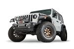 Warn Stubby Crawler Bumper without Grille Guard Tube for Jeep JL, JK & JT