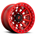 Fuel Off-Road Covert Beadlock Wheel - 17x9 - Candy Red