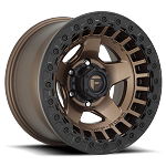 Fuel Off-Road Warp Beadlock Wheel - 17x9 - Matte Bronze