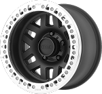 KMC KM229 Machete Crawl - 17x9 - Satin Black