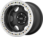 KMC KM233 Hex - 20x10 - Satin Black