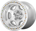 KMC KM233 Hex - 20x10 - Machined