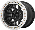 KMC KM235 Grenade Crawl - 20x10 - Satin Black