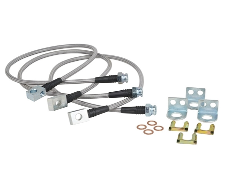 Trail Gear Jeep Front & Rear Brake Line Kit