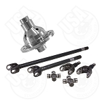 USA Standard 4340 Chrome-Moly Axle & Grizzly Locker Kit, Jeep TJ/XJ/YJ/WJ/ZJ, Dana 30, 30 Spline, With Spicer Joints
