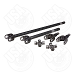 USA Standard 4340 Chrome-Moly Axle Kit, '79-'93 Dodge, Dana 60, 30 Spline, With Spicer Joints