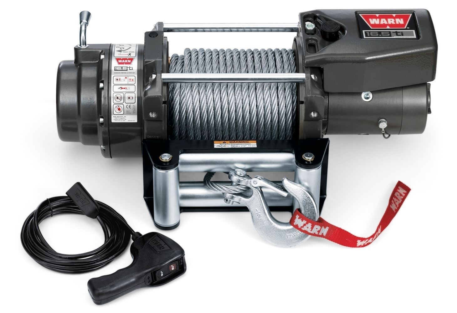 Warn 16.5ti Heavyweight- 16,500lb Recovery Winch
