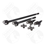 Yukon 4340 Chrome-Moly Front Axle Kit, Jeep XJ, YJ & TJ, Dana 30, 30 Spline, With Spicer Joint