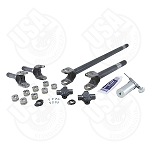 USA Standard 4340 Chrome-Moly Front Axle Kit, '77-'91 GM Dana 60, 35 Spline, With Super Joints
